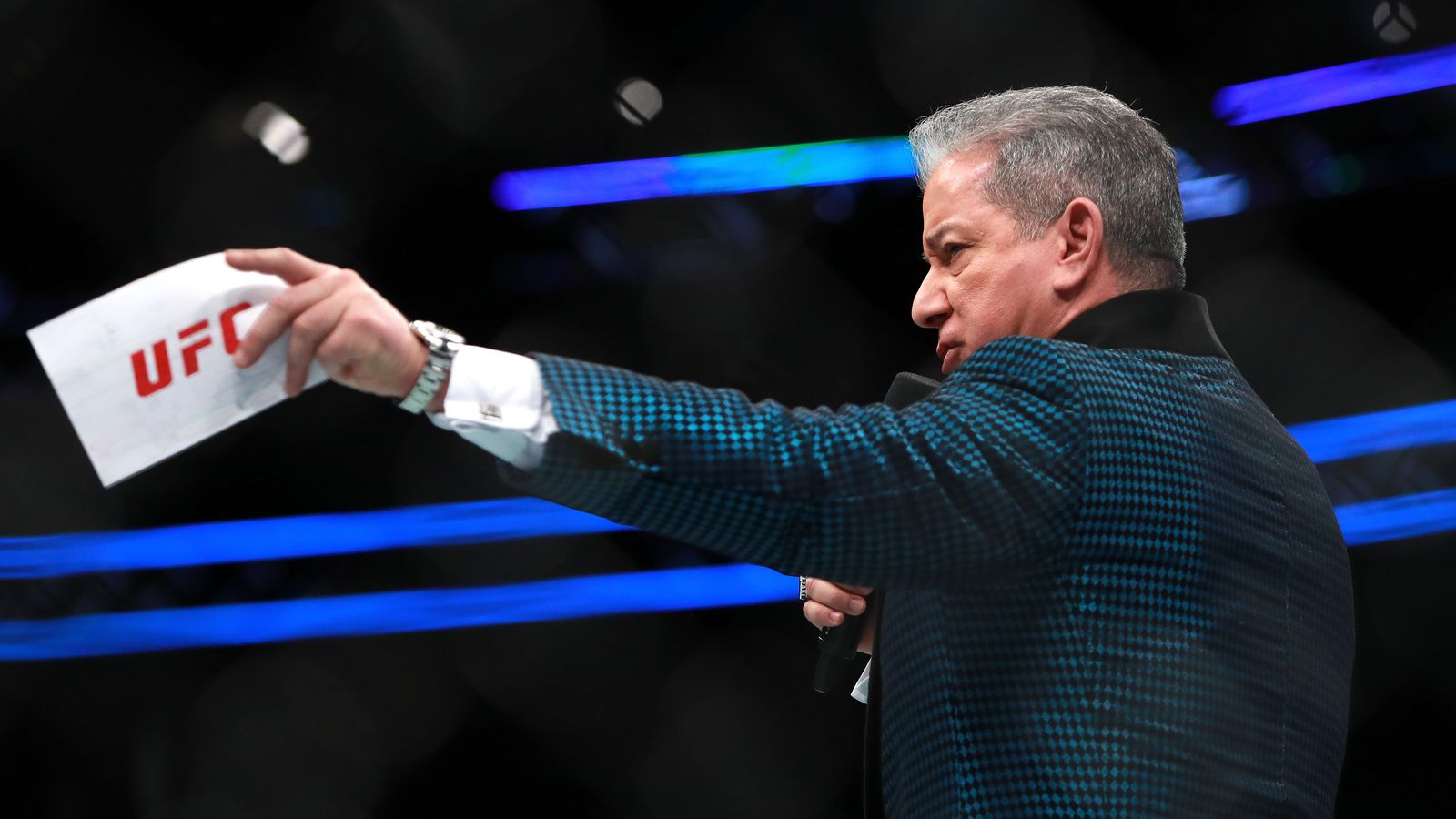 Video: Bruce Buffer is now a playable character in EA Sports UFC 3 — and his taunt is amazing