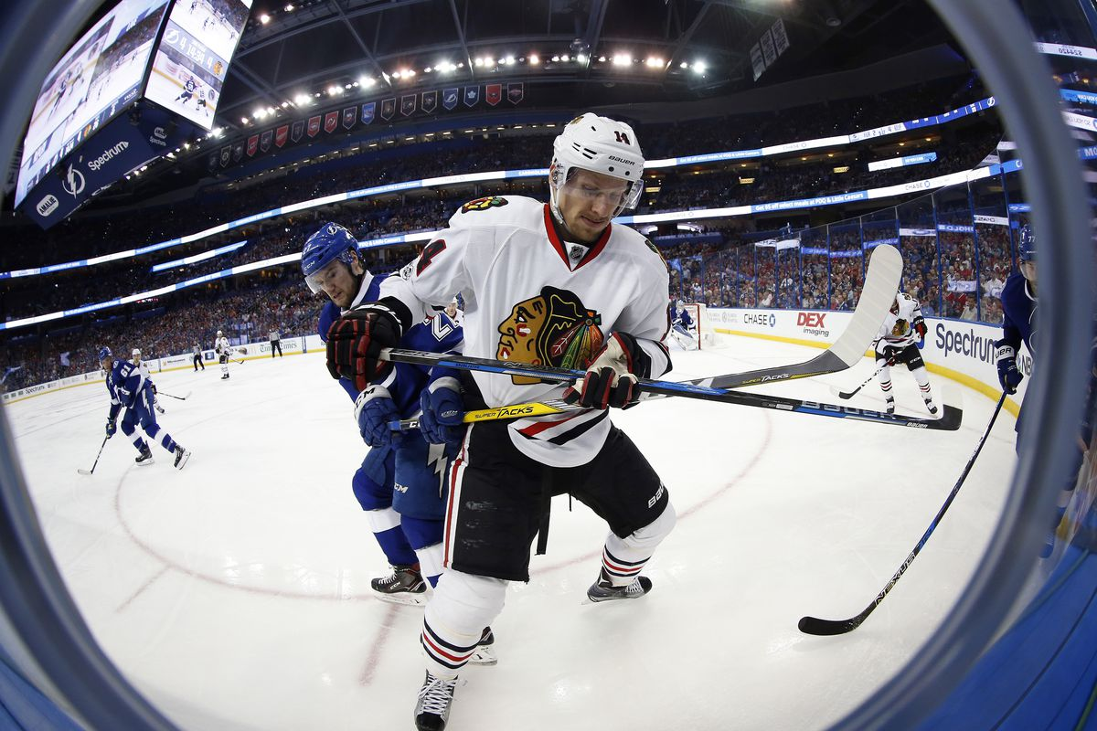 NHL: Chicago Blackhawks at Tampa Bay Lightning