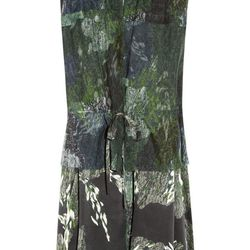 "<a href=""http://www.theoutnet.com/product/245680"">Edun Printed silk-satin and chiffon dress</a>, $99.60 (was $498)"