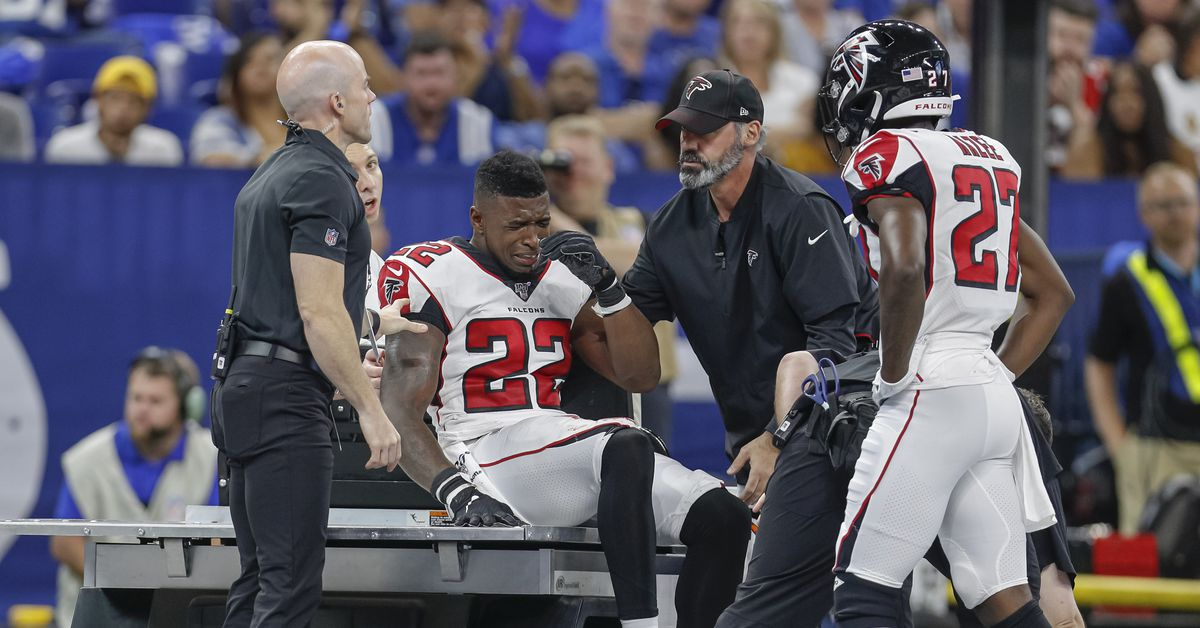 The unsportsmanlike conduct call on an injured Keanu Neal was a disgrace