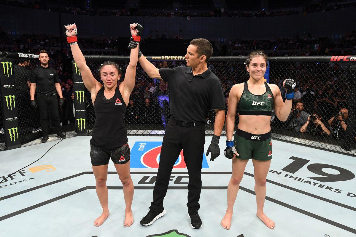 UFC Fight Night: Esparza v Grasso