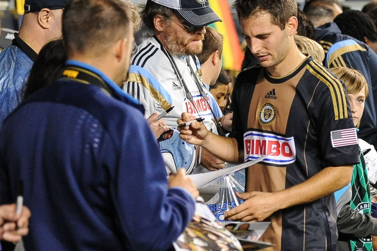 The Union spent much of the time after the game writing apology notes.