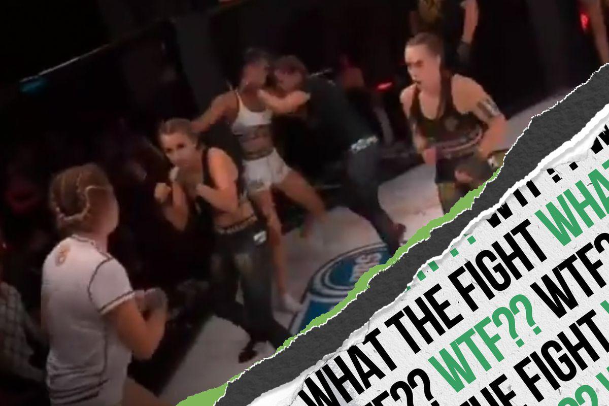 3 vs. 3 MMA is never a good idea.