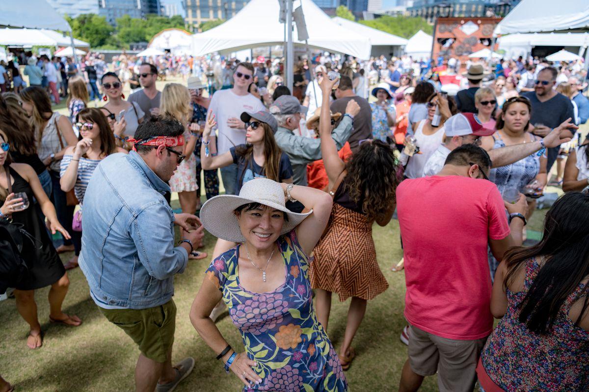 Austin Food & Wine's dance party