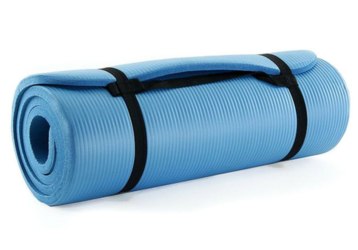 A Super Thick Super Cheap Yoga Mat For Hardwood Floor