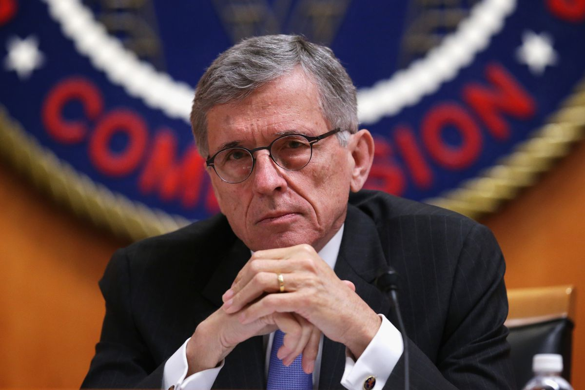 FCC Chairman Tom Wheeler at the May 15 meeting