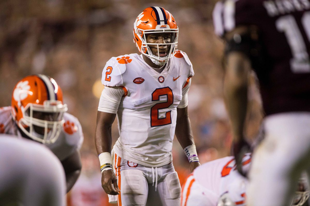 Clemson from Transferring Bryant Kelly  Quarterback