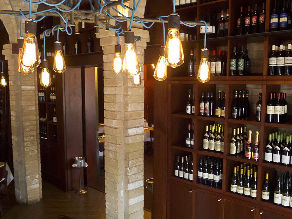Coppa's Wine Wall