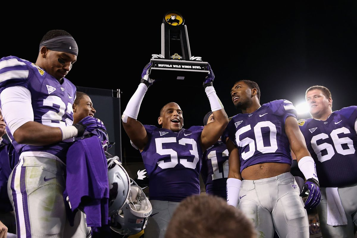 Kansas State is losing a great one in Blake Slaughter. Maybe someday Justin Hughes can be just as great.