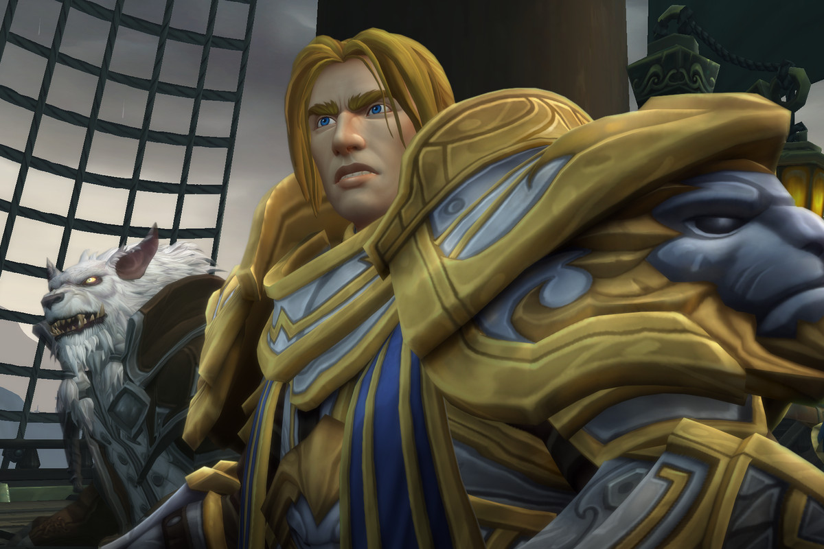 World of Warcraft: Battle for Azeroth - King Anduin Wrynn aboard his airship