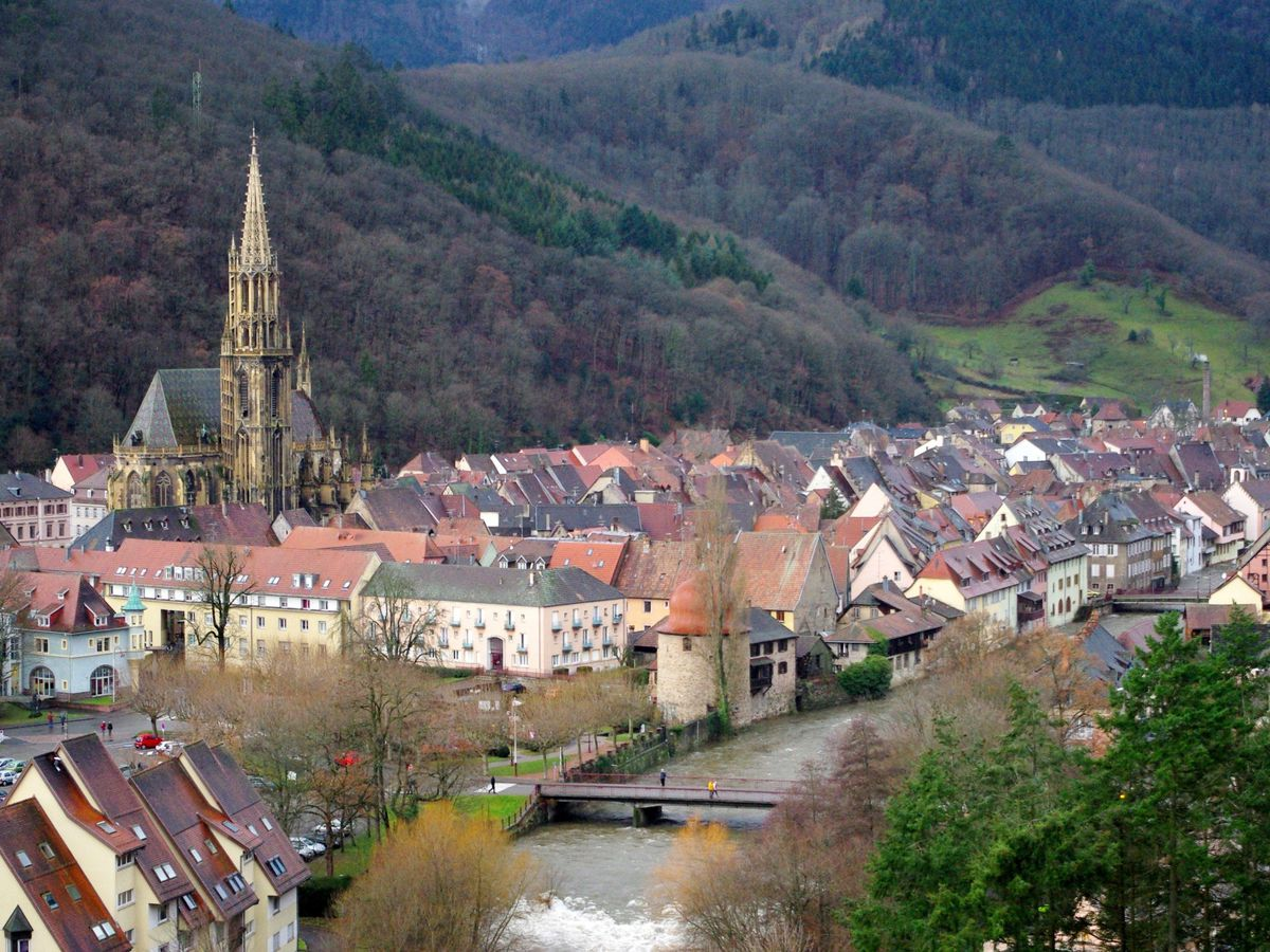 The beautiful hometown of Louan Schlict Thann, France