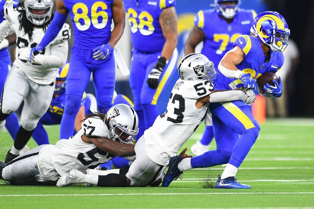 NFL: AUG 21 Preseason - Raiders at Rams