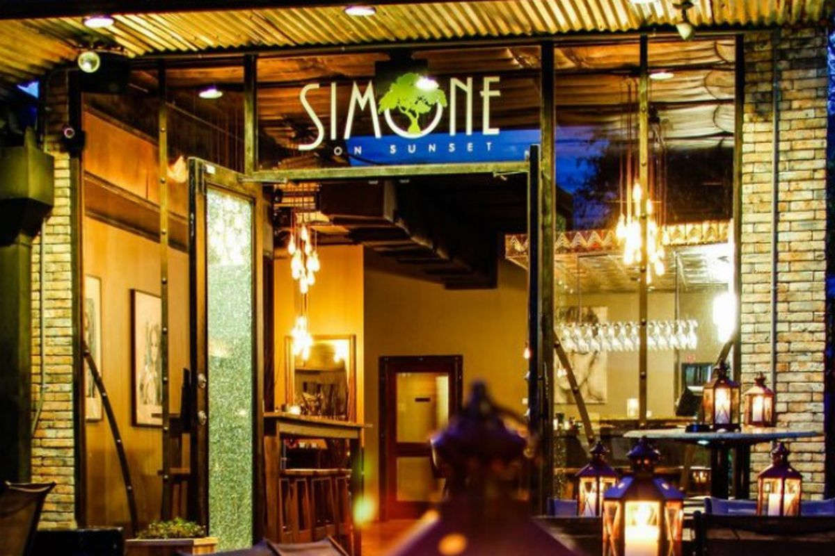 Simone on Sunset may be closed for good.