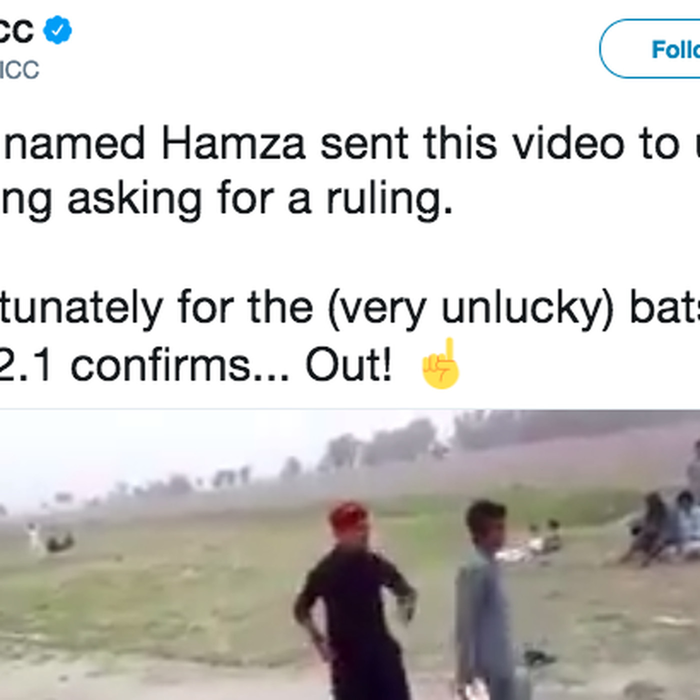 Cricket's governing body will answer your friends' rules