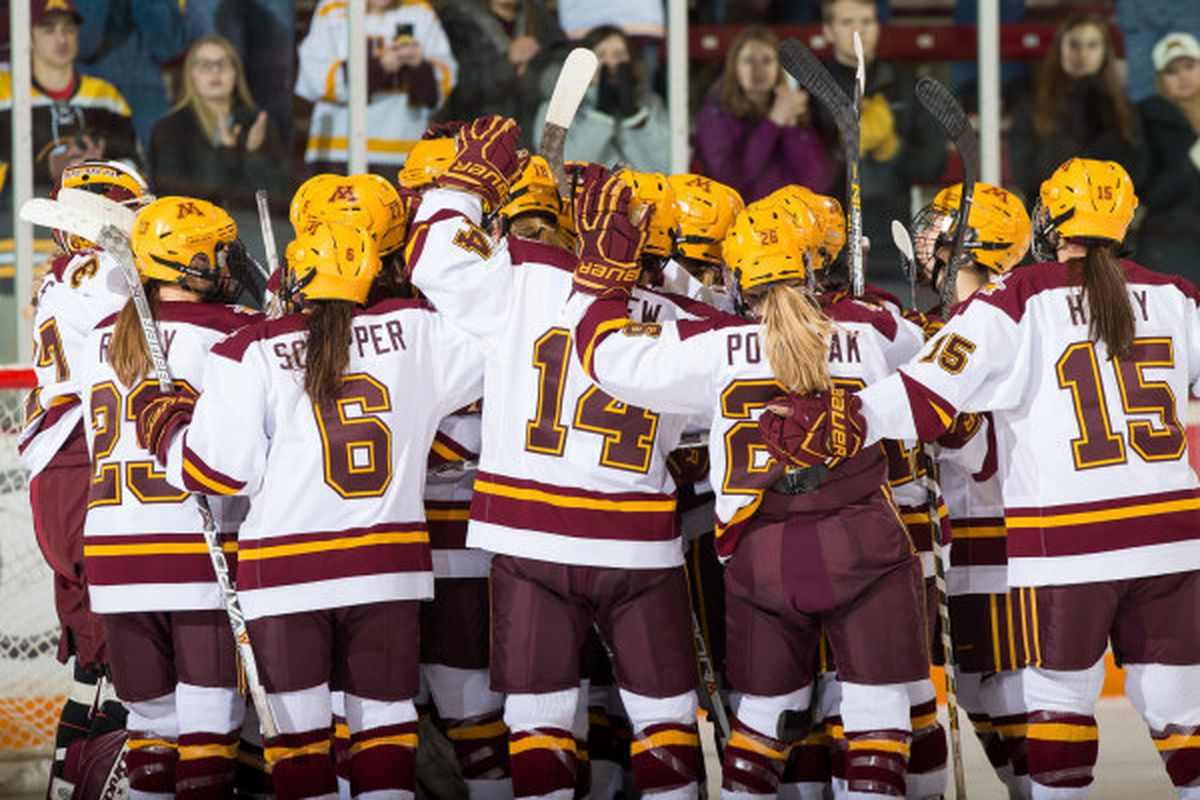 minnesota women's hockey 2017-18 schedule released - the daily gopher