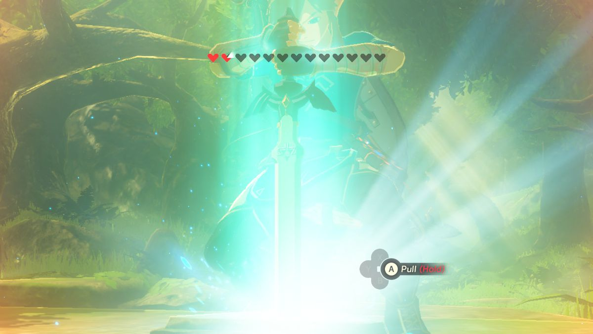 How to get the Master Sword in Zelda: Breath of the Wild - Polygon