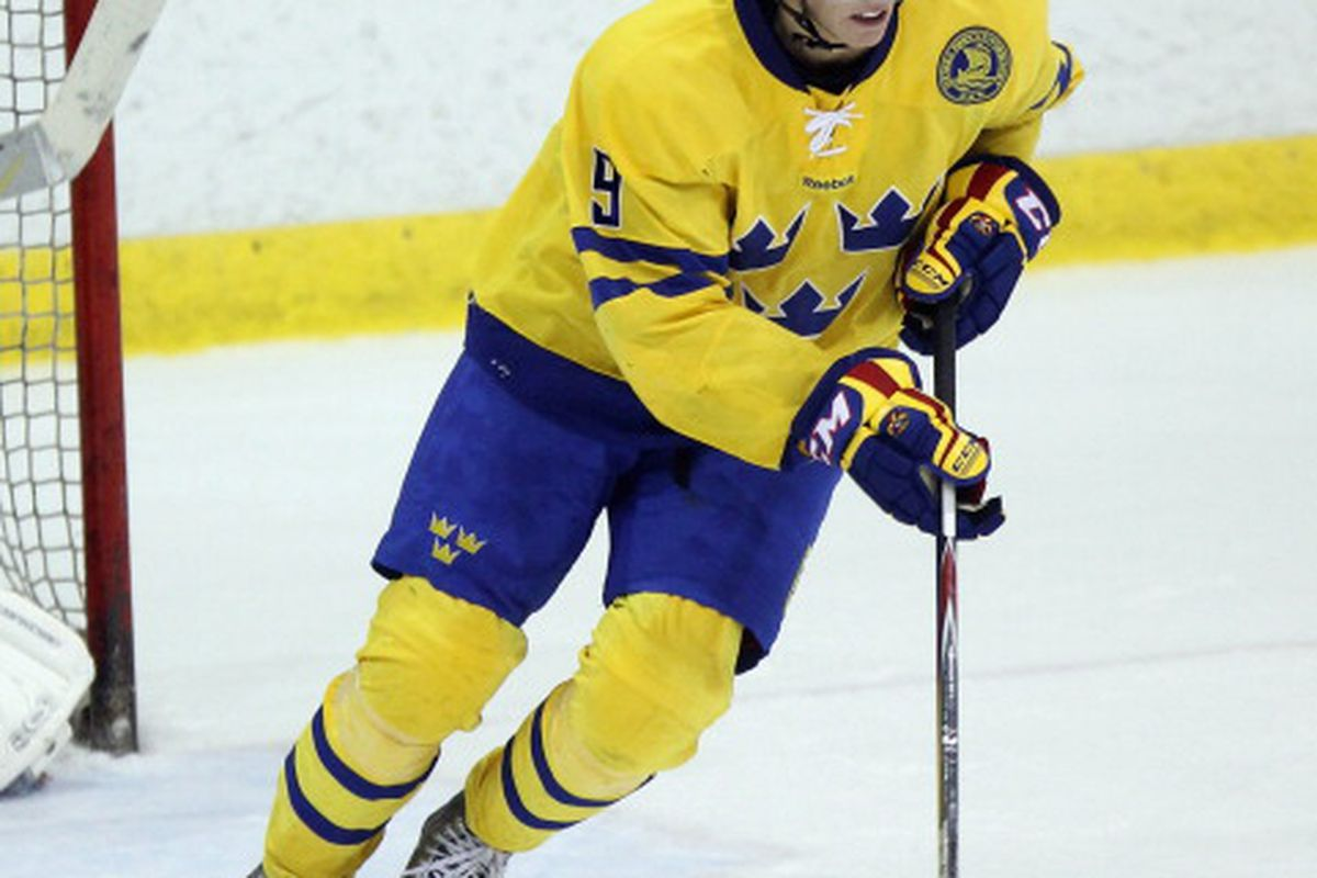 John Klingberg, No. 20 in our Top 20 prospect rankings. (Photo by Bruce Bennett/Getty Images)