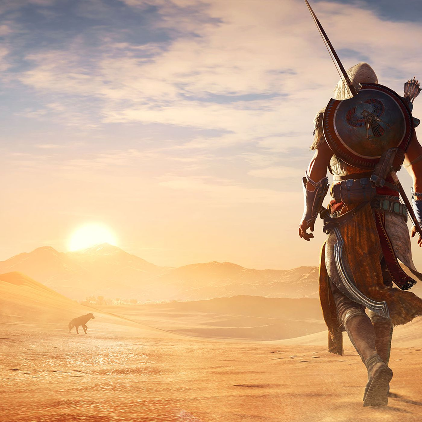 Assassin S Creed Origins Map Takes Almost Three Hours To Cross Polygon