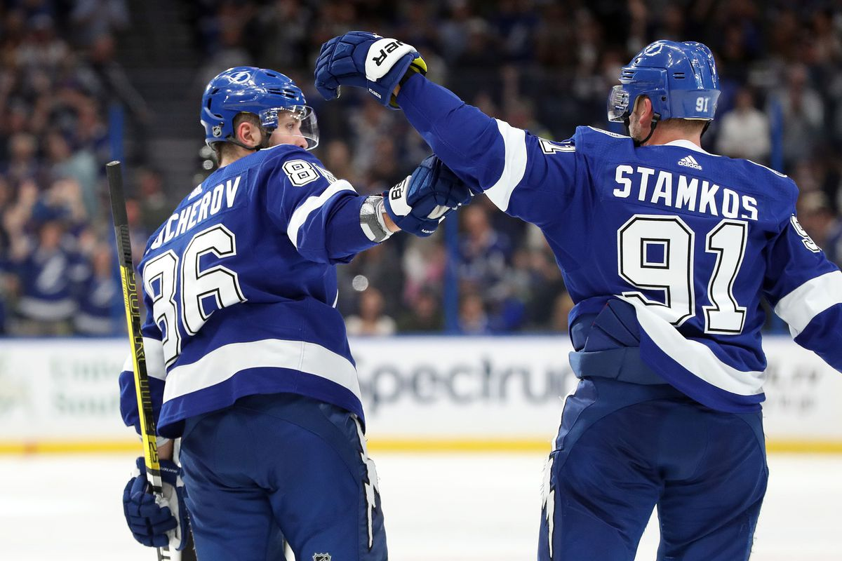 pretty nice fd63b 94930 Quick Strikes: Lightning's Kucherov and Stamkos are NHL All ...