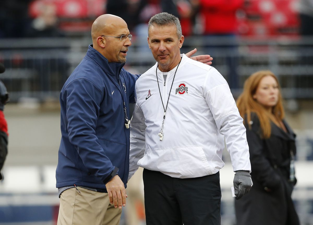 """<p zoompage-fontsize=""""15"""" style="""""""">NCAA Football: Penn State at Ohio State"""