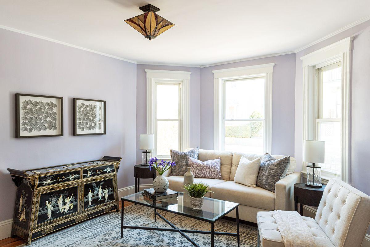 Fall 2021, Dorchester reveal, 1st floor living room