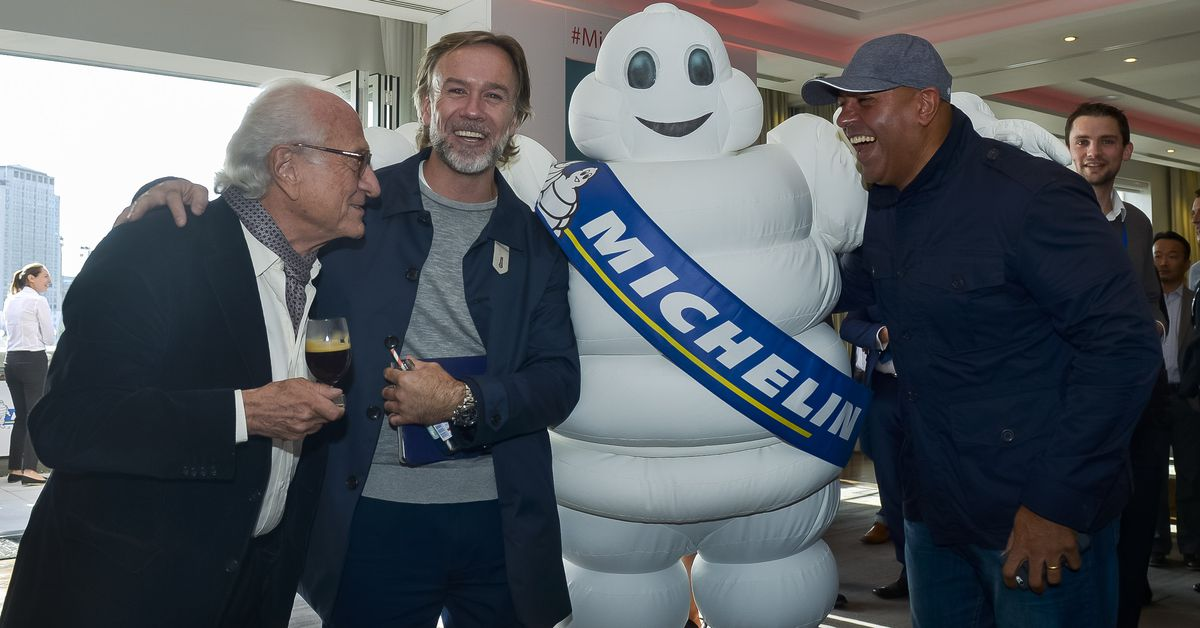 The Michelin Man Wants Londoners to Sit and Applaud His Taste in Restaurants This Year