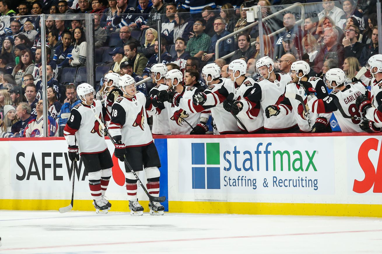 Game Recap: Arizona Coyotes Feast Upon the Winnipeg Jets