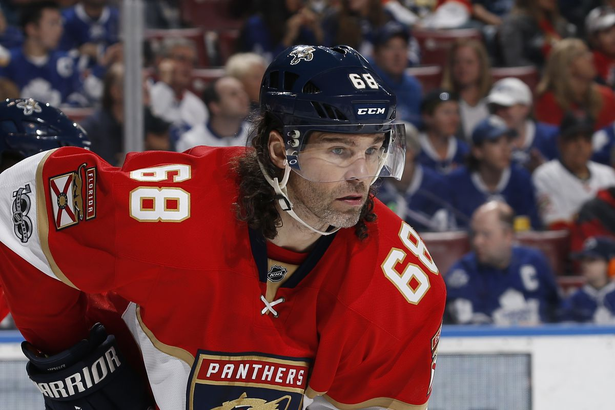 Jagr surprised by lack of National Hockey League interest