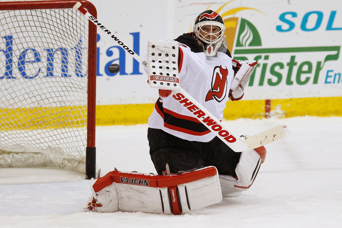 Martin Brodeur will start the Devils' first game of the 2013 season against the Islanders.