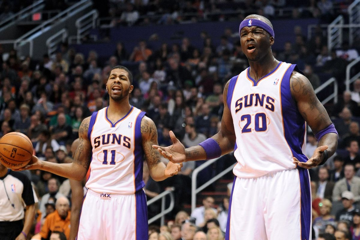 The Suns did way too much of this...