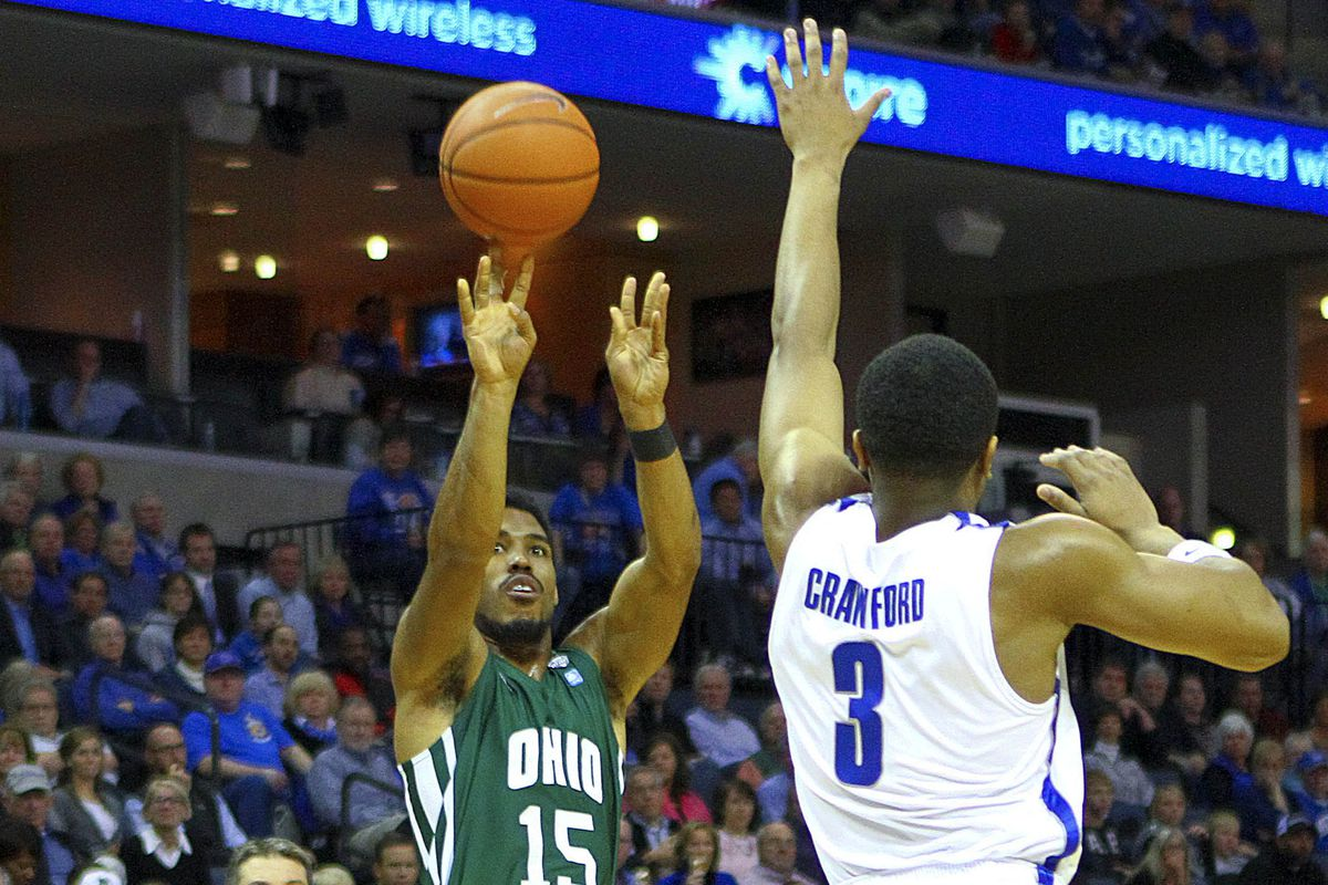 Ohio pulls out a late win over CMU.