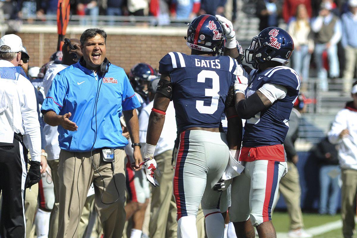 NCAA Football: Arkansas at Mississippi