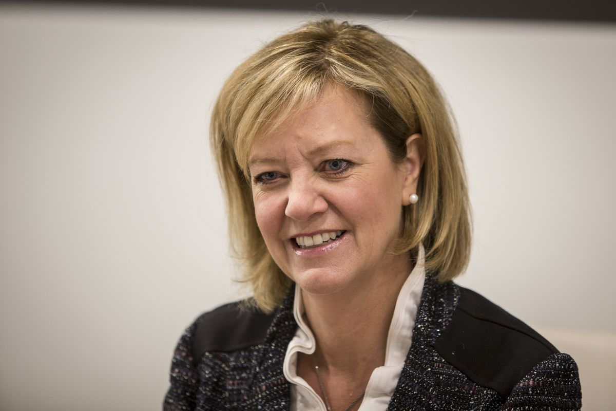 Jeanne Ives, Illinois Republican gubernatorial primary candidate.   Rich Hein/Sun-Times