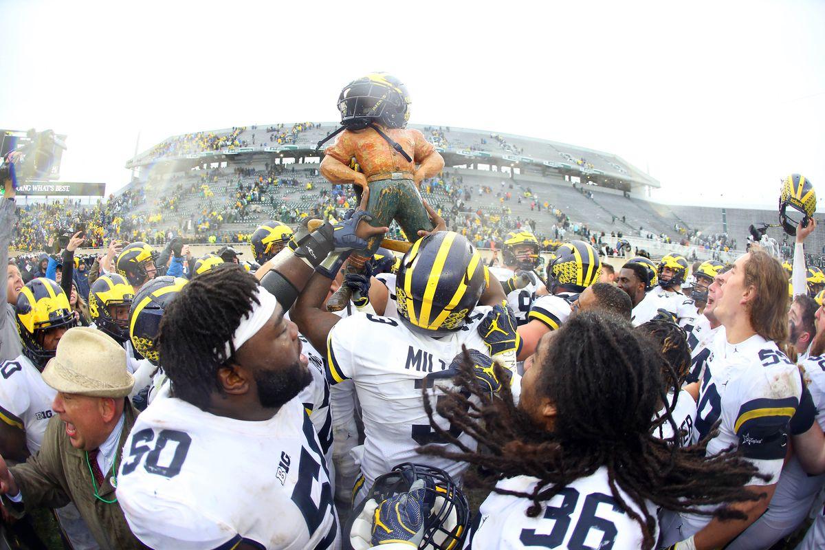 Michigan State vs. Michigan - Game Summary - October 7 ...