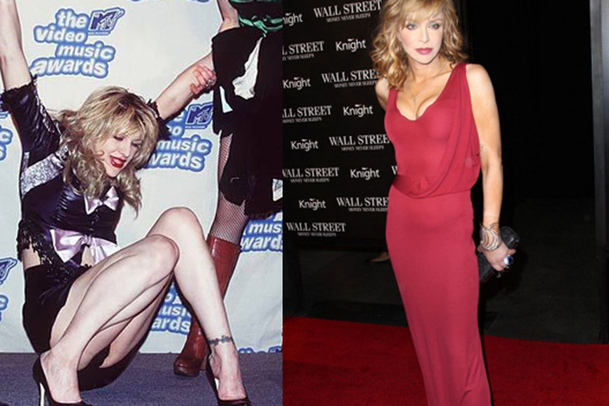 """Images via <a href=""""http://www.heavyblogisheavy.com/2010/05/06/courtney-love-still-a-dumb-broad-confuses-the-hell-out-of-me/"""">Heavy Blog is Heavy</a> and <a href=""""http://www.couturesnob.com/celeb-fashion/?limit=10&amp;offset=30"""">Couture Snob</a>"""