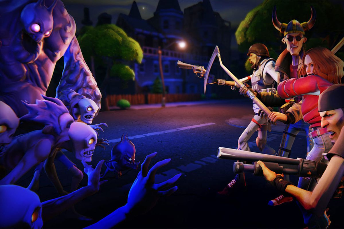 Epic games 39 fortnite will be the developer 39 s first unreal for Fond ecran fortnite