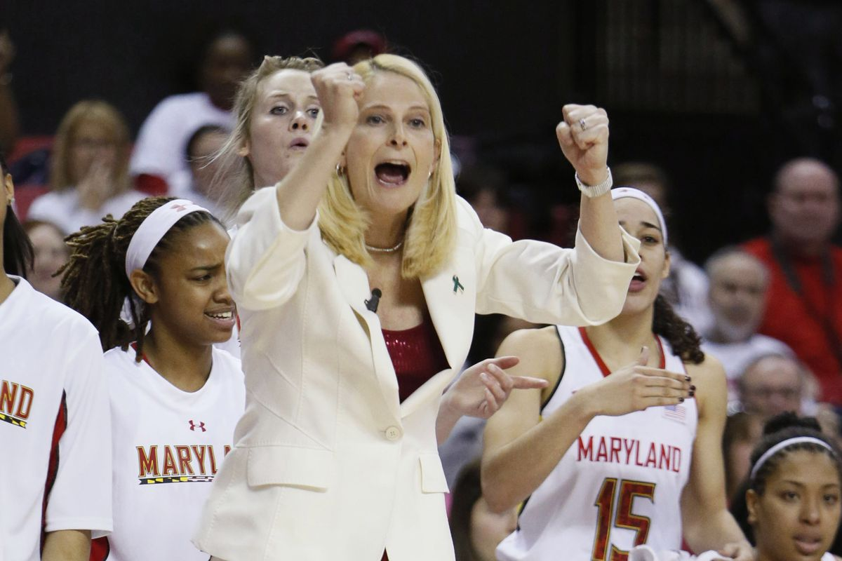 Brenda Frese celebrated her team's success this season with the program's ninth NCAA tournament selection under her watch.