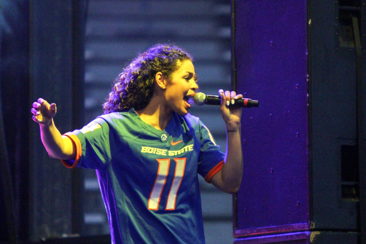 ENTERTAINMENT: APR 11 Jordin Sparks Concert at Boise State