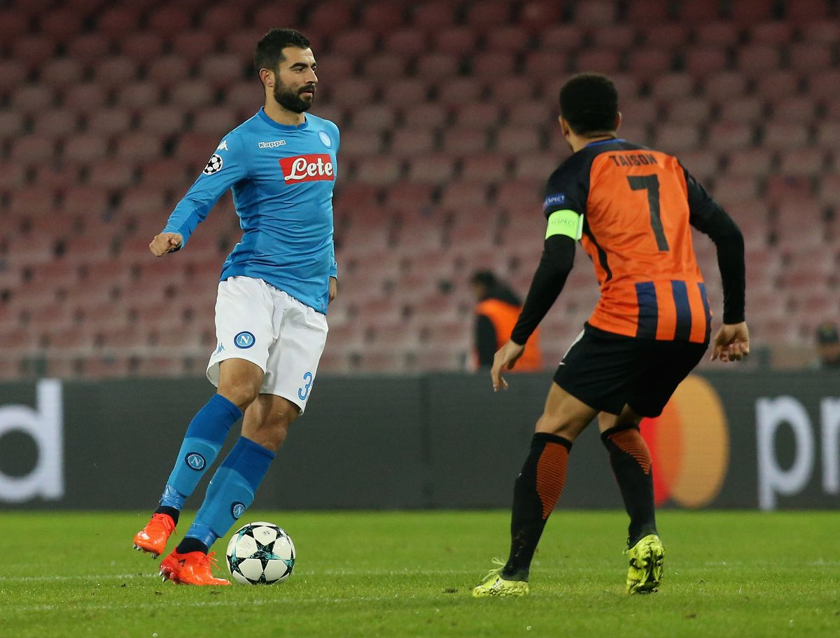 SSC Napoli v Shakhtar Donetsk - UEFA Champions League