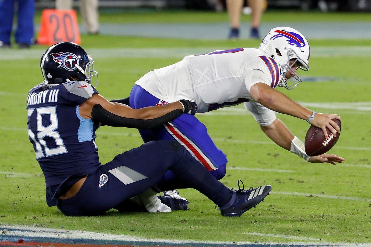 Buffalo Bills v Tennessee Titans