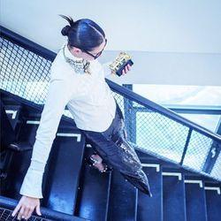 "<a href=""http://instagram.com/p/Y_O7RfzOCa/"">This</a> is how Jenna Lyons does punk, folks."