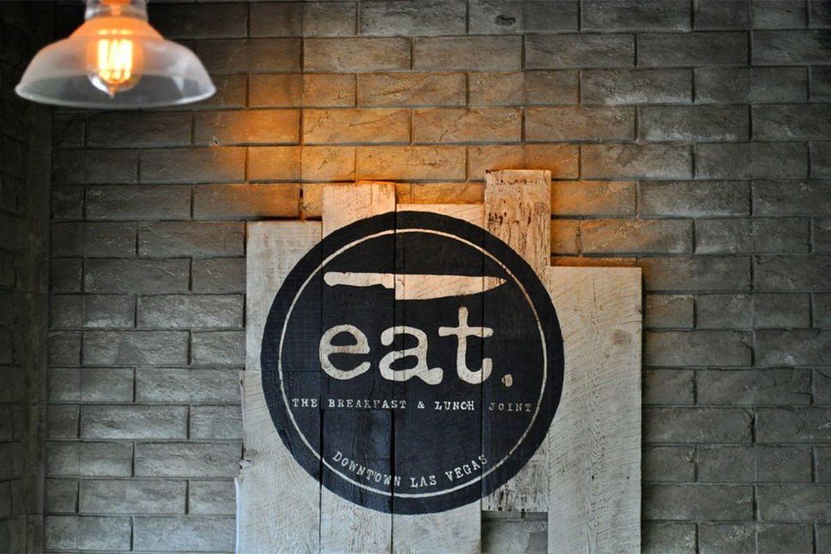 The Eat logo.