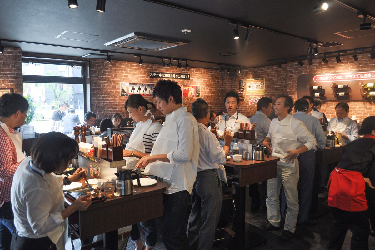 Ikinari steak the japanese chain famous for no chairs opens in east village thursday