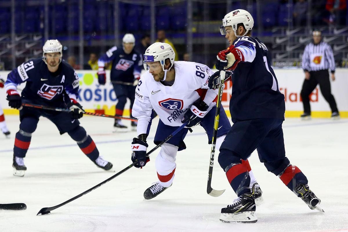 United States v France: Group A - 2019 IIHF Ice Hockey World Championship Slovakia