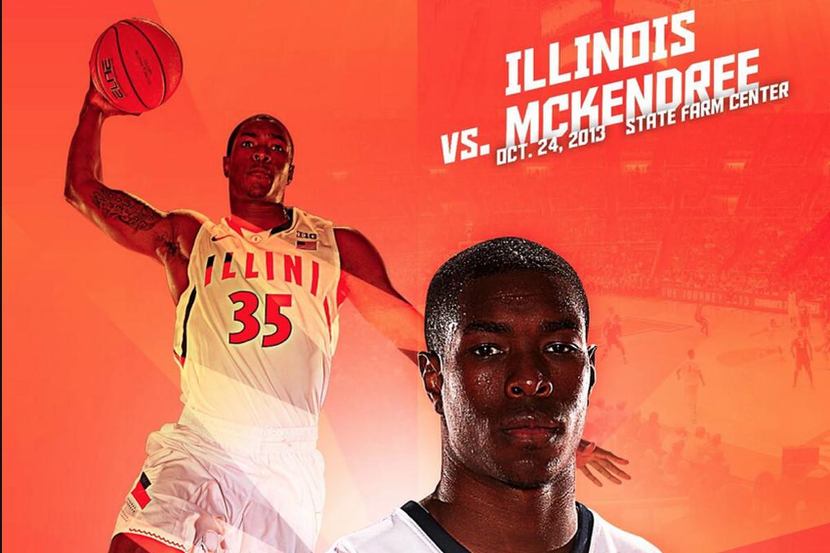 Tonight's game poster via @IlliniDesign