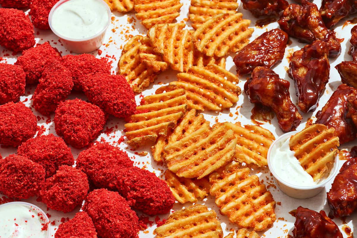 Cosmic Wings has debuted with its Out-of-this-World Cheetos wings menu, Cheese Bites and more.