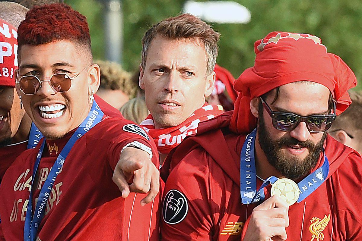Liverpool Parade to Celebrate Winning UEFA Champions League