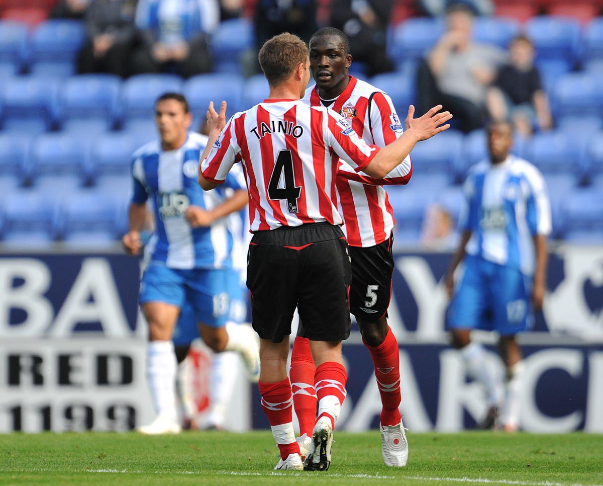 Soccer - Barclays Premier League - Wigan Athletic v Sunderland - JJB Stadium