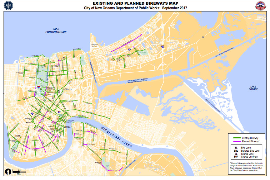 Bicycling in New Orleans: Its current state and promising ...