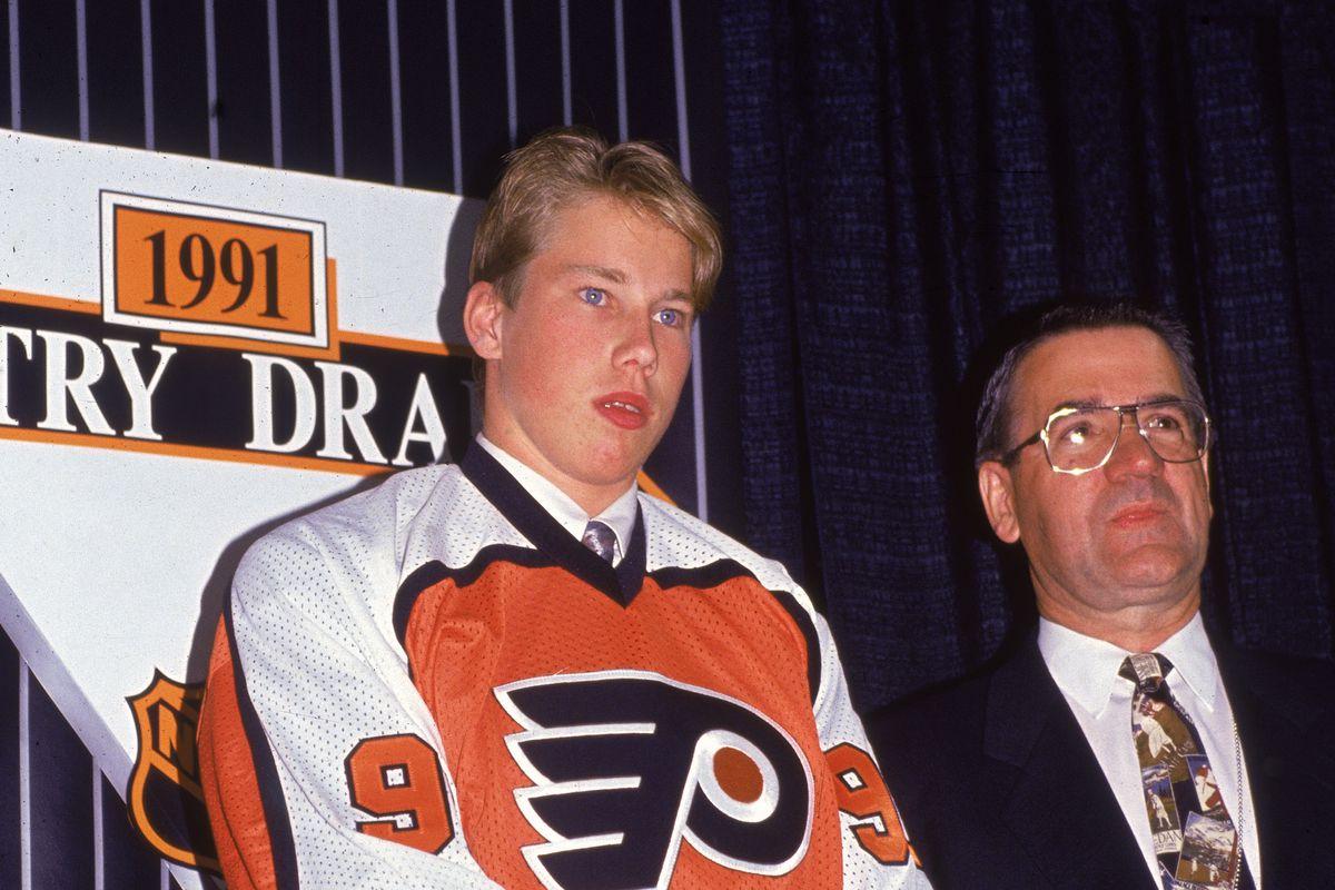 Peter Forsberg At 1991 NHL Entry Draft